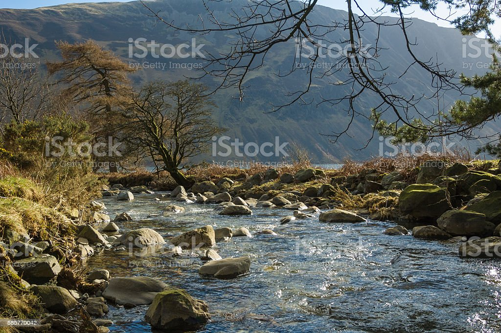 Nether Beck at Wasdale stock photo
