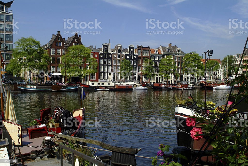 Netherland, Amsterdam royalty-free stock photo