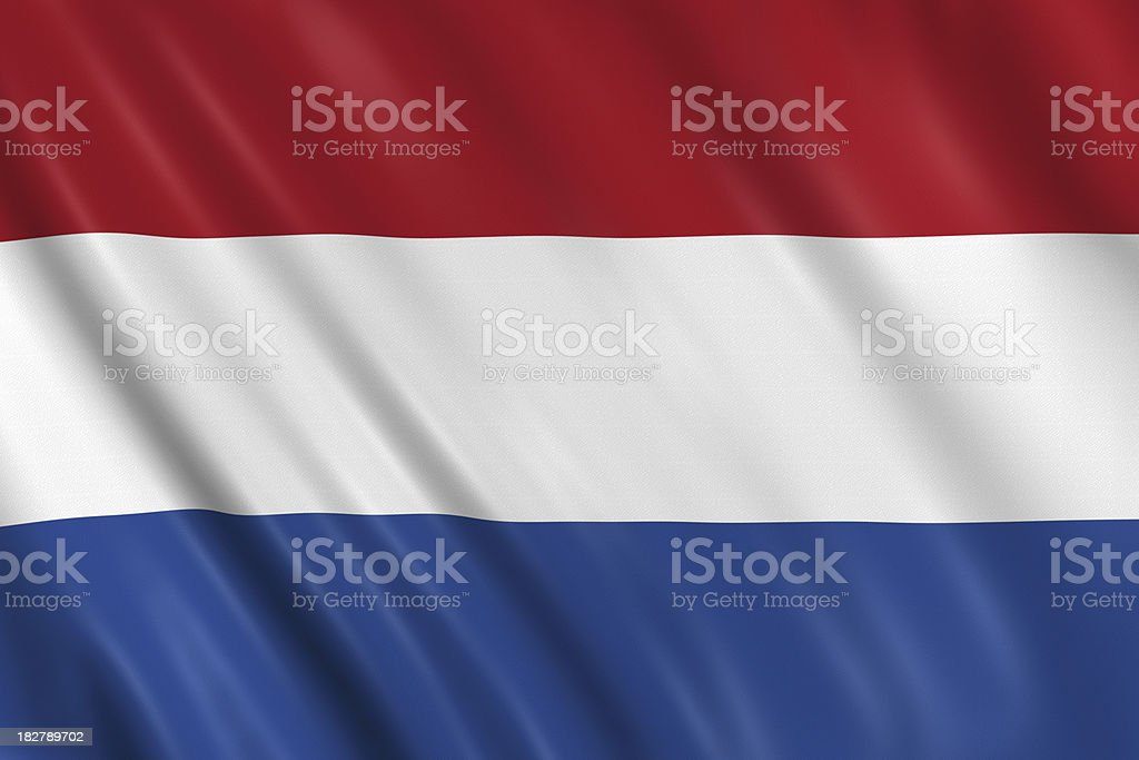 netherland, dutch flag stock photo