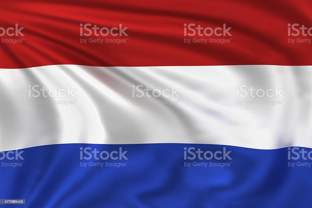 Netherlands Flag stock photo