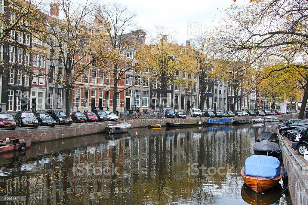 Netherlands: Herengracht in Amsterdam stock photo