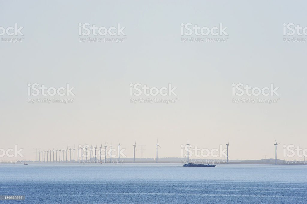 Netherlands landscape stock photo