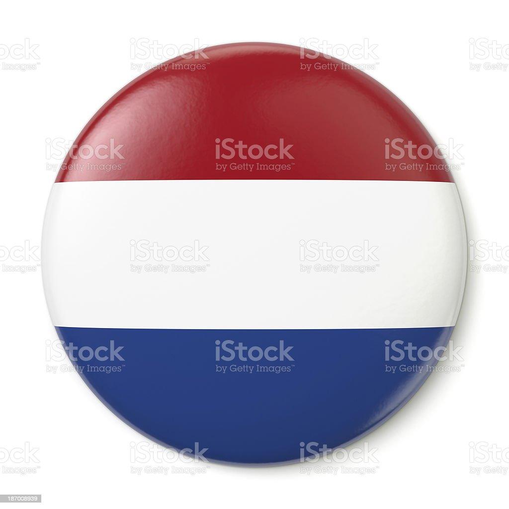 Netherlands Pin-back stock photo