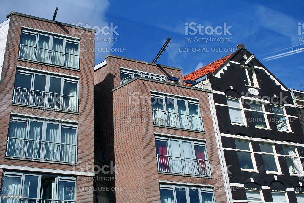 Netherlands: Prinsengracht in Amsterdam stock photo