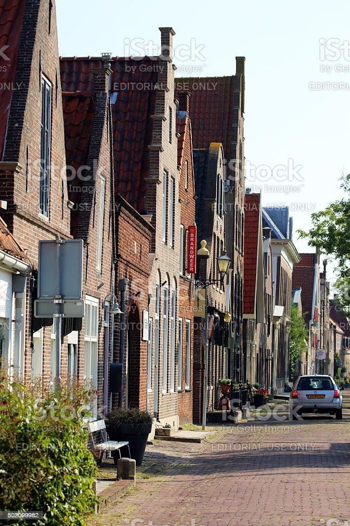 Netherlands: Town of Edam stock photo