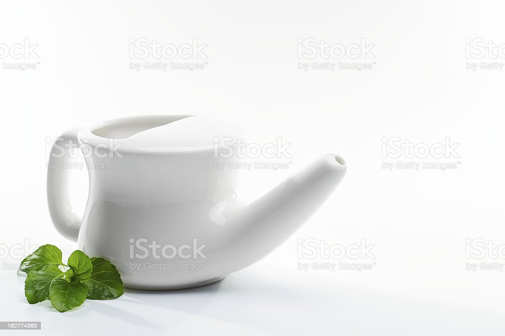 Neti Pot stock photo
