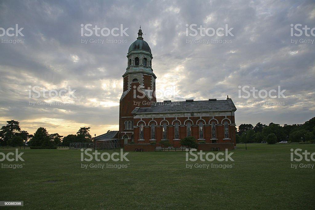 Netley Chapel stock photo
