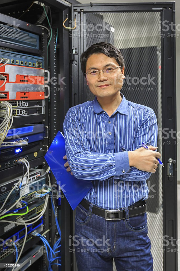 Network Administrator royalty-free stock photo