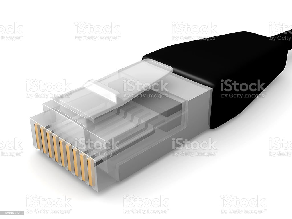 Network Cable royalty-free stock vector art