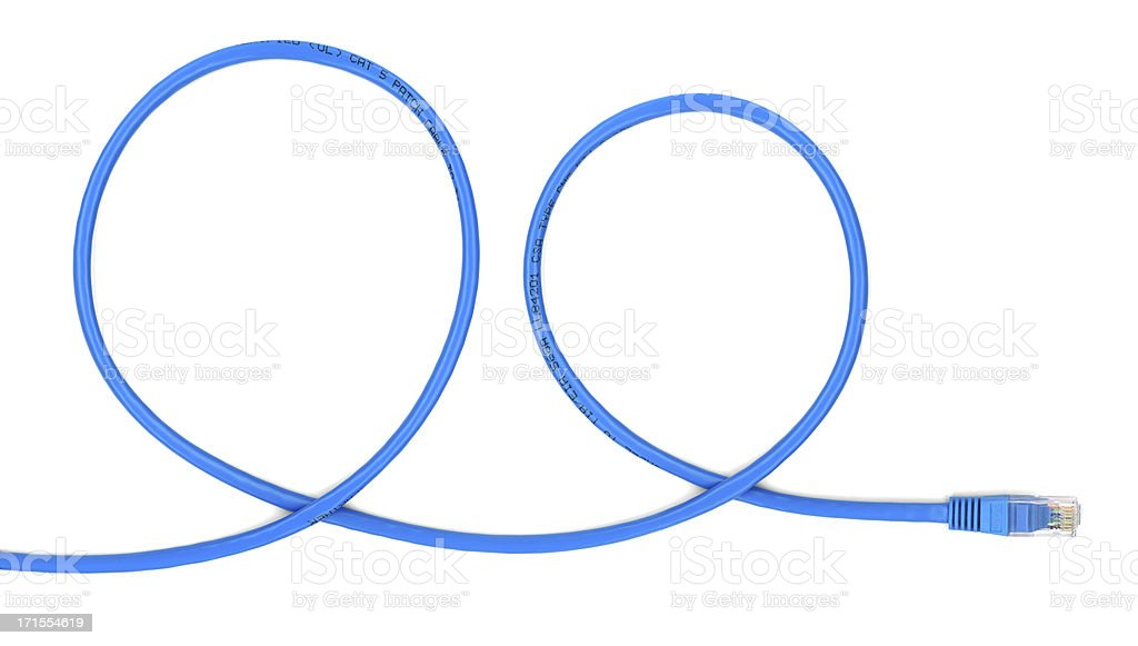 Network cable (hi-res: 6925x3927) stock photo