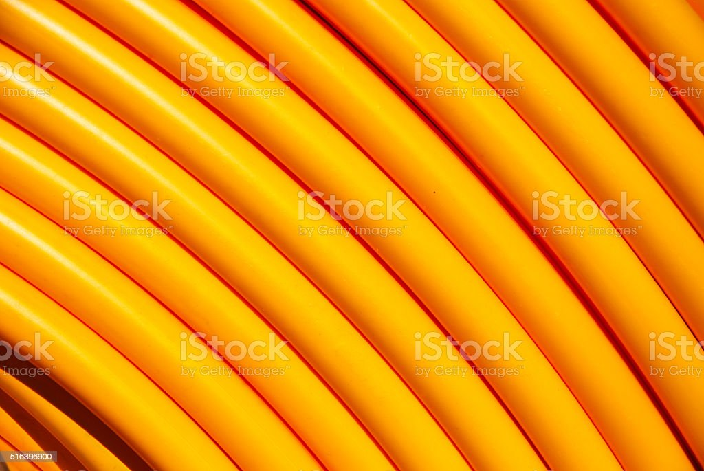 Network cable roll closeup stock photo