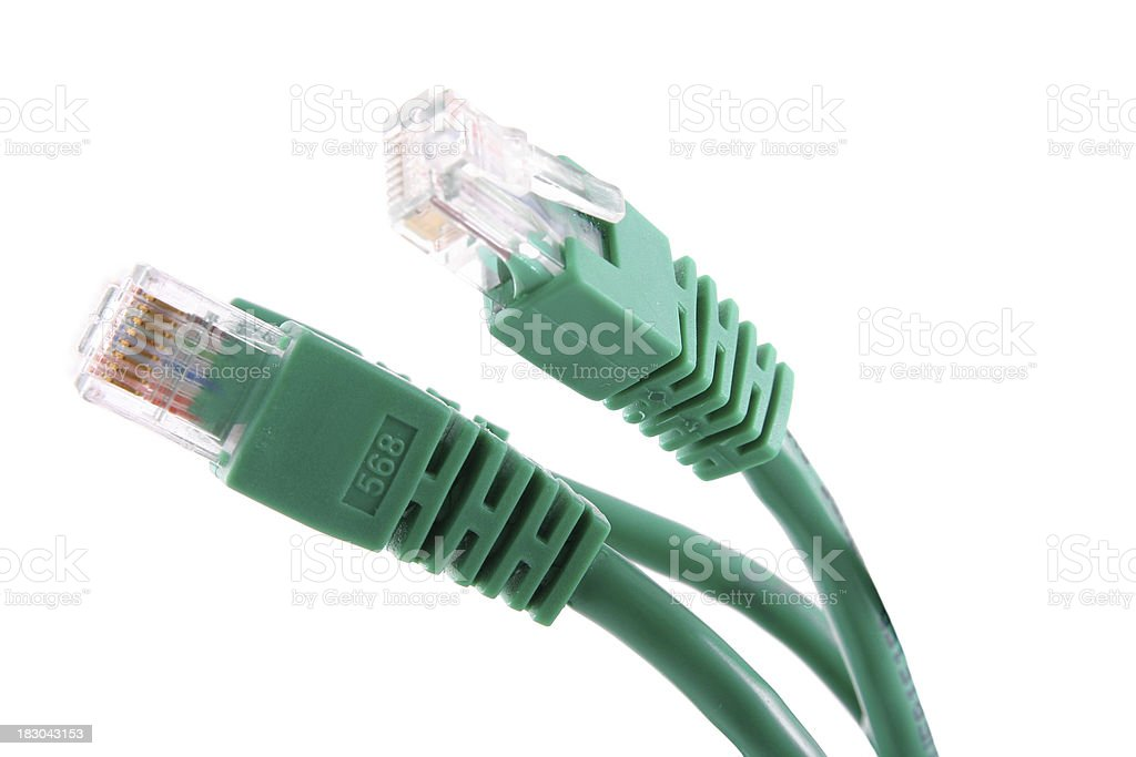 Network cables royalty-free stock photo