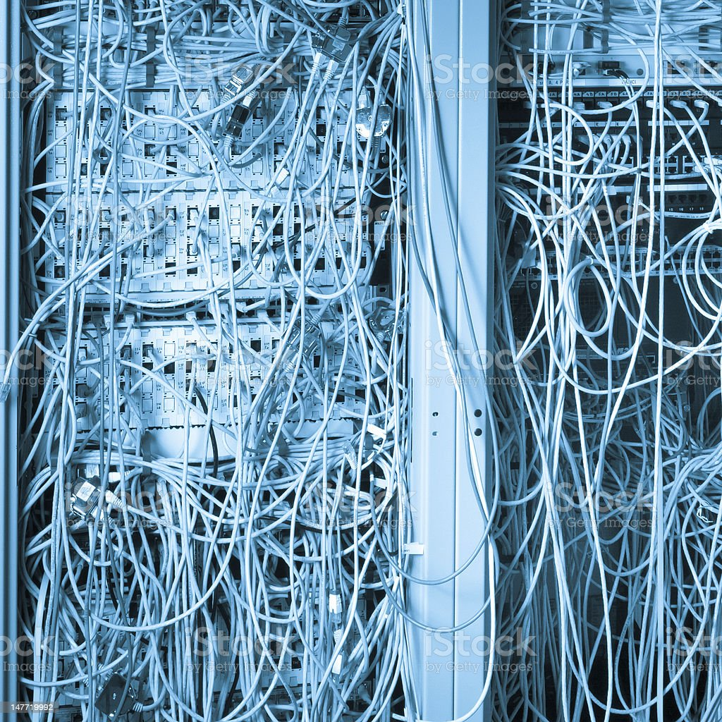 Network center concept royalty-free stock photo