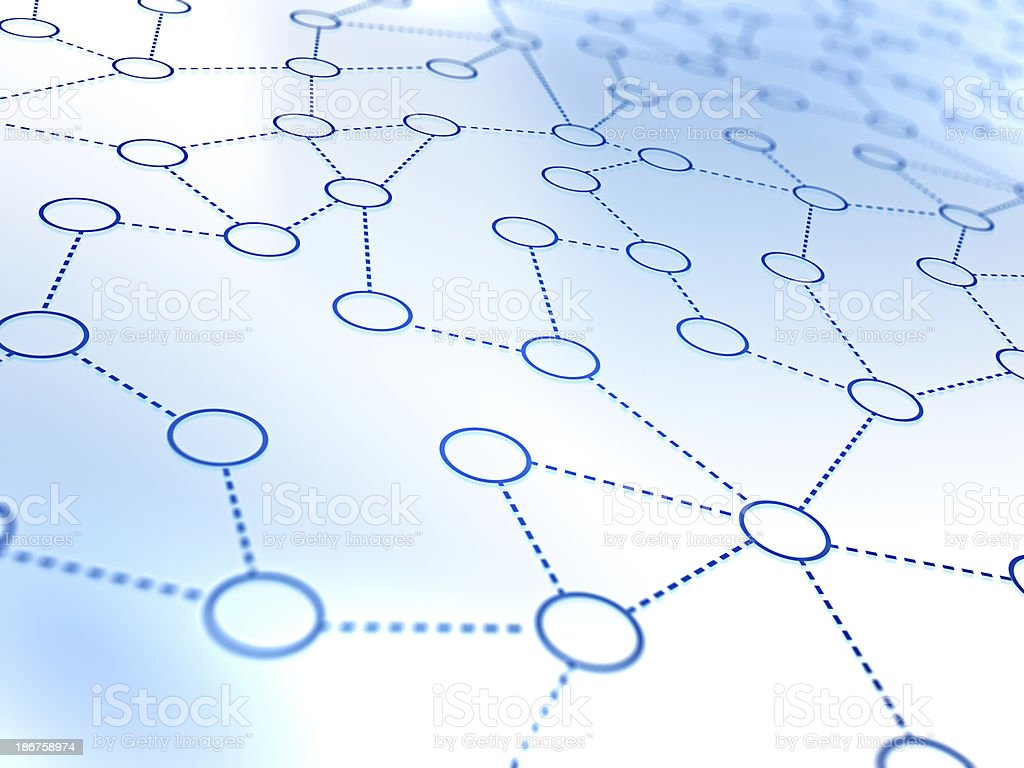Network concept royalty-free stock photo