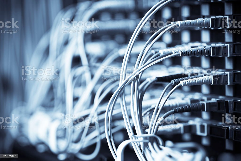 Network connection royalty-free stock photo