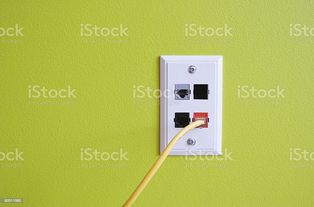 Network Connection stock photo
