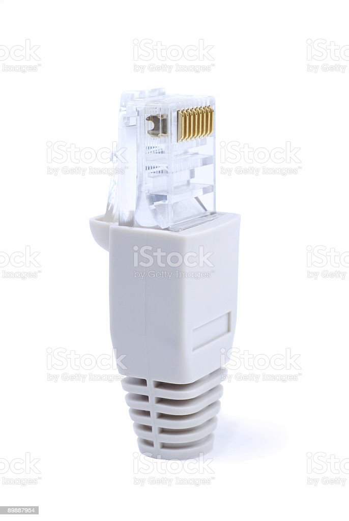 Network Connector stock photo