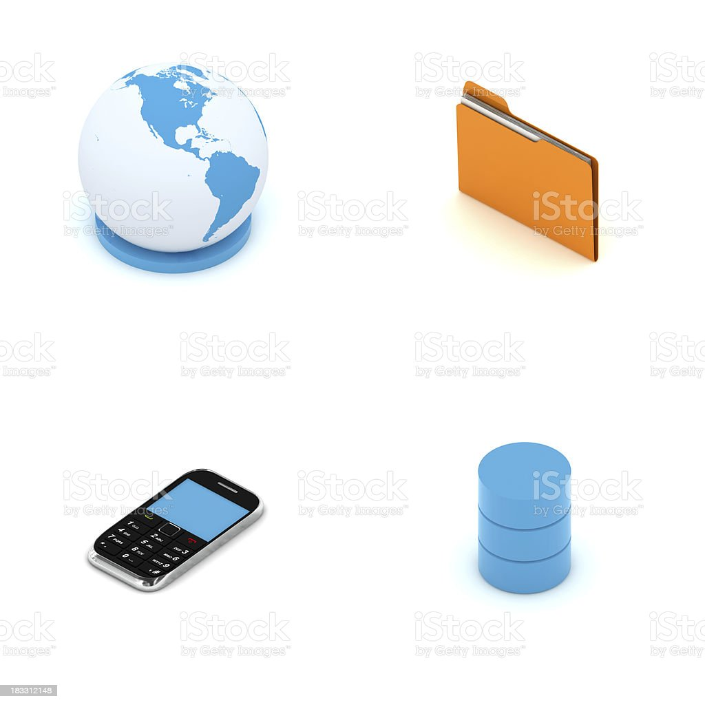 Network Elements stock photo