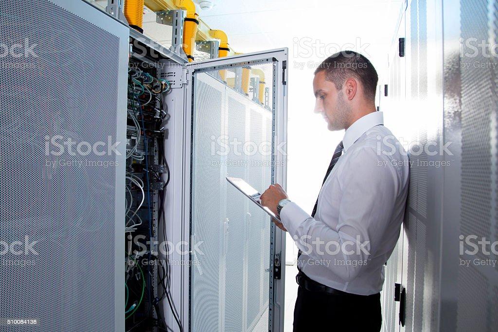 network engineer stock photo