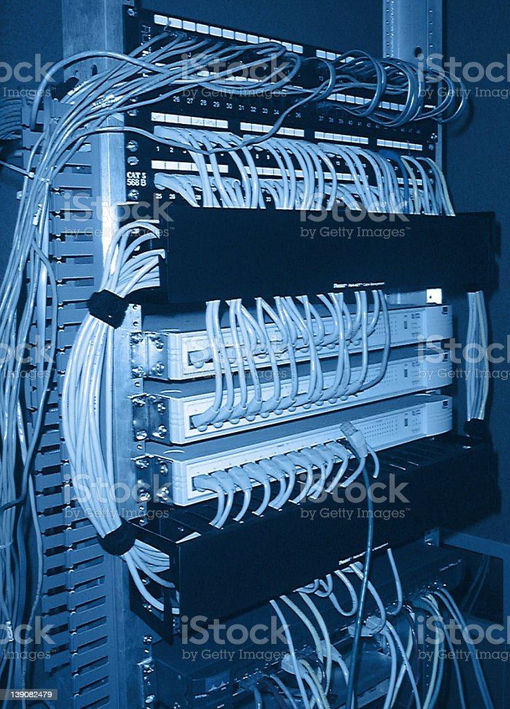 Network Equipment royalty-free stock photo