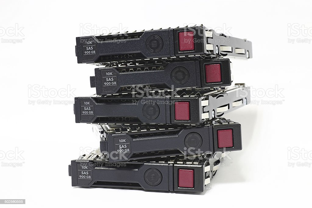 Network Hard Drives stock photo