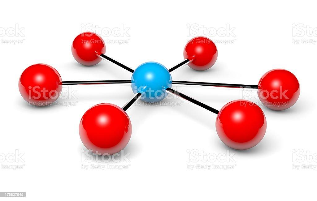 Network hotspot stock photo