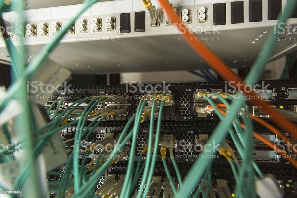 Network hub royalty-free stock photo