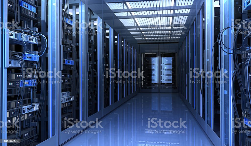 Network Infrastructure royalty-free stock photo
