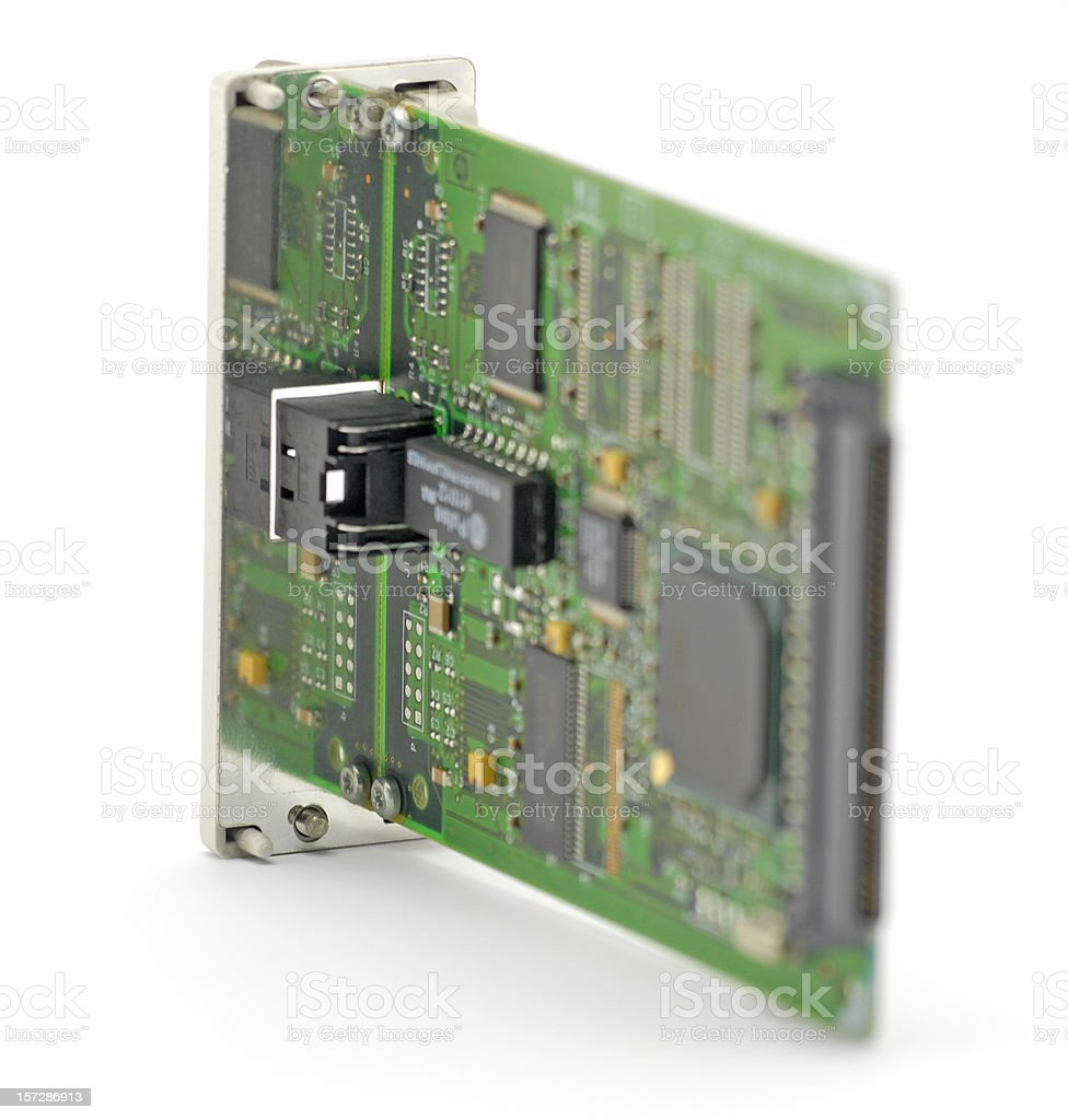 Network interface card royalty-free stock photo