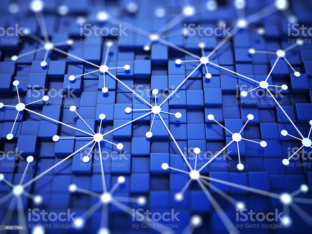 Network optimization concept stock photo