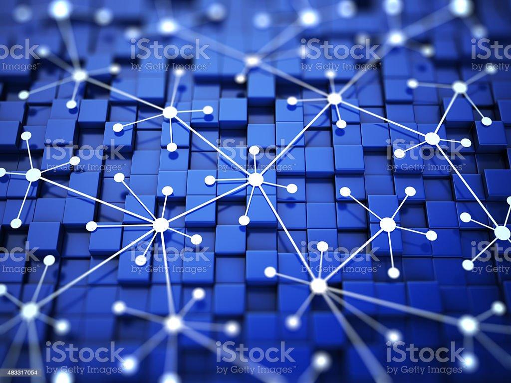 Network optimization concept stock photo
