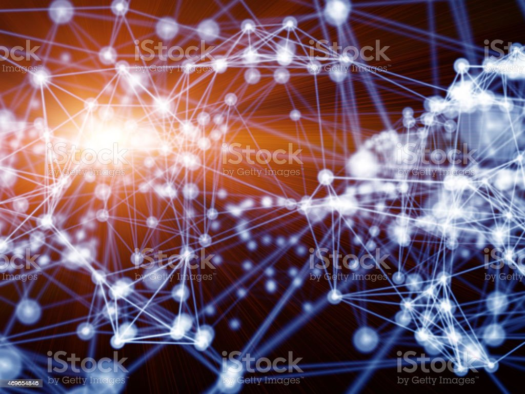 Network optimization stock photo
