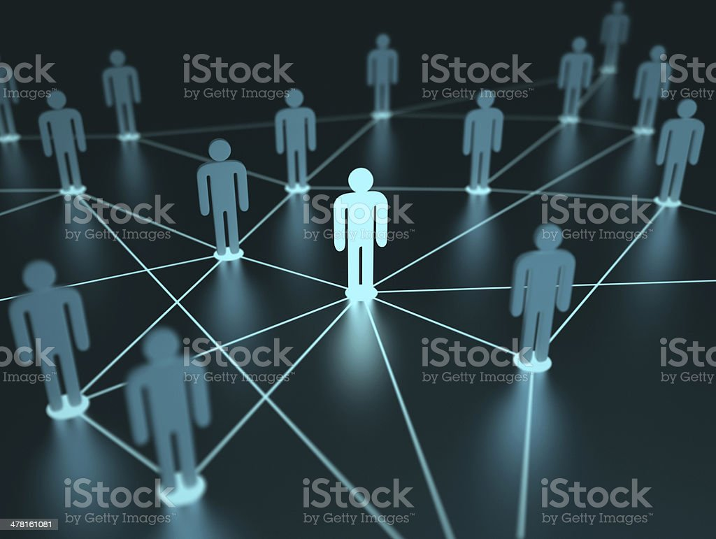 Network People stock photo