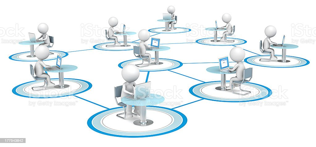 Network. royalty-free stock photo