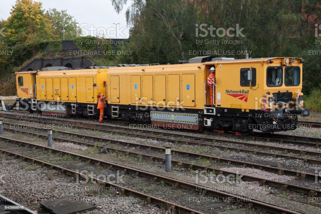 Network Rail Maintenance Train stock photo