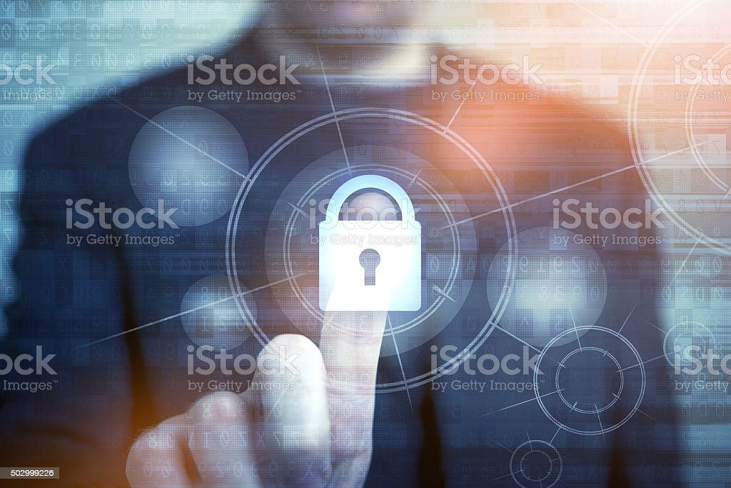 Network Safety Concept stock photo