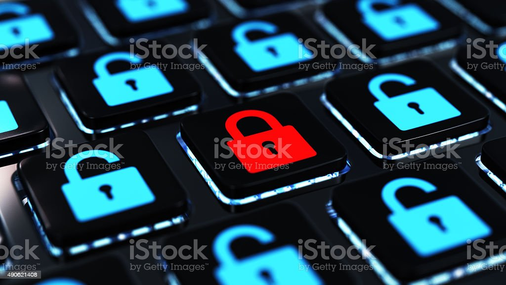 Network Security Concept stock photo
