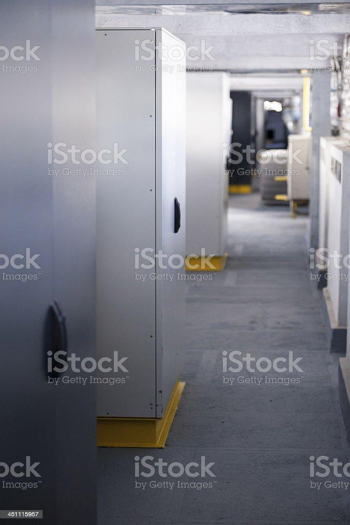 Network Server Center royalty-free stock photo
