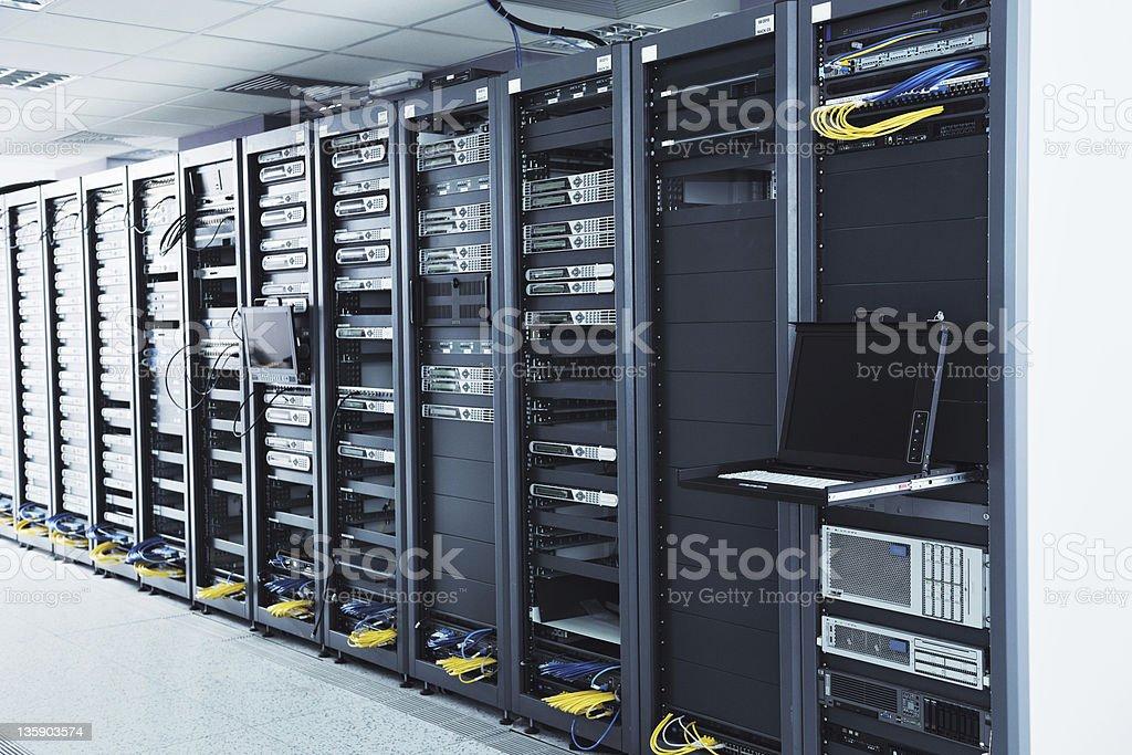 network server room royalty-free stock photo