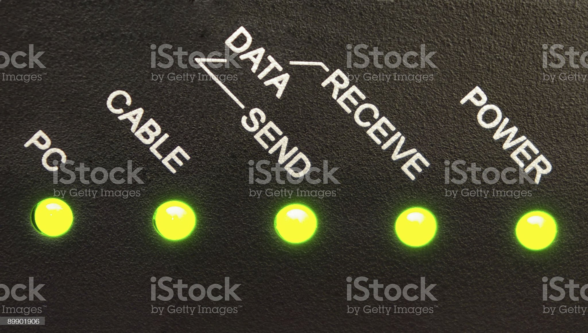 Network Status royalty-free stock photo