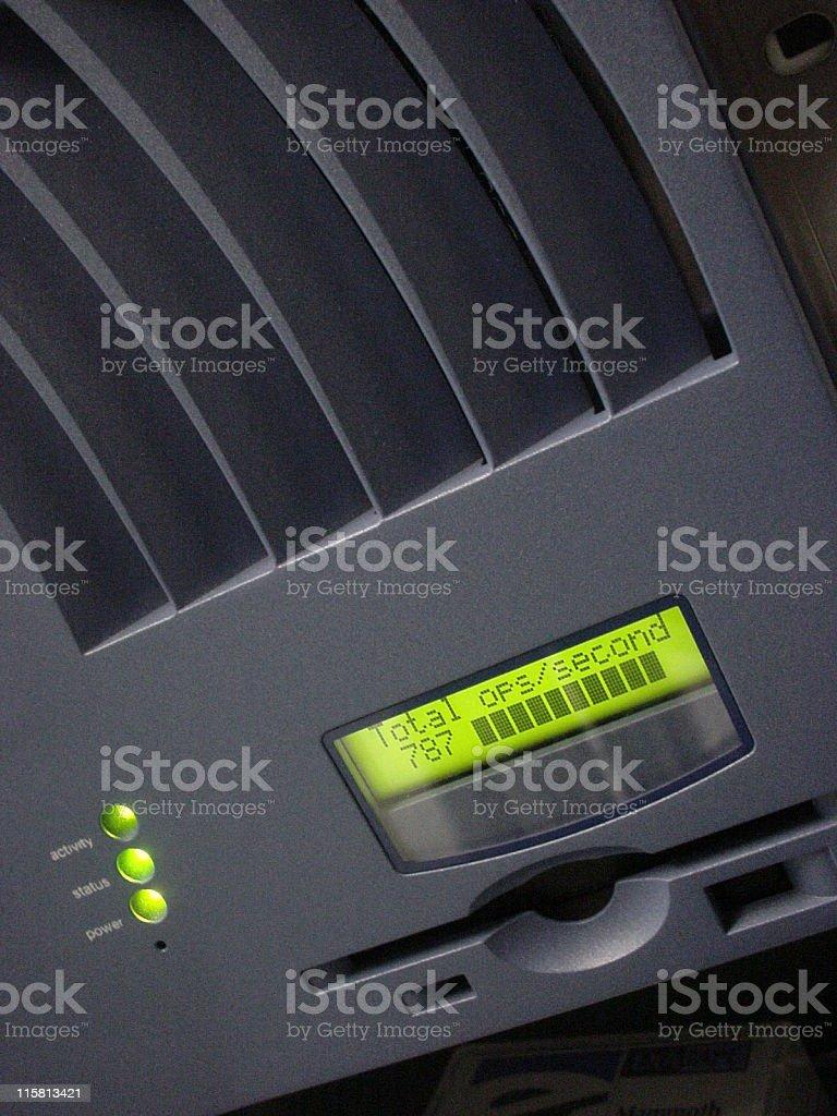 Network storage stock photo