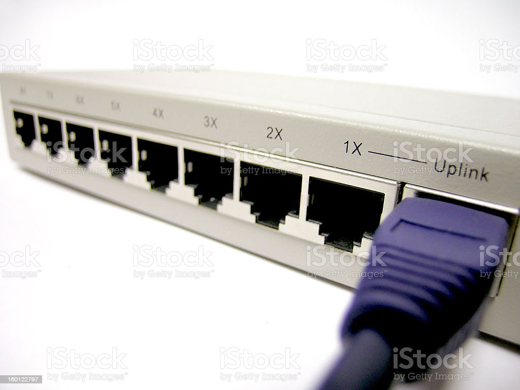 Network Uplink royalty-free stock photo
