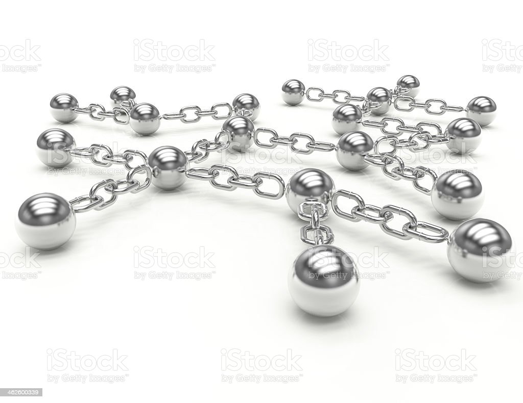 Network-Concept royalty-free stock photo