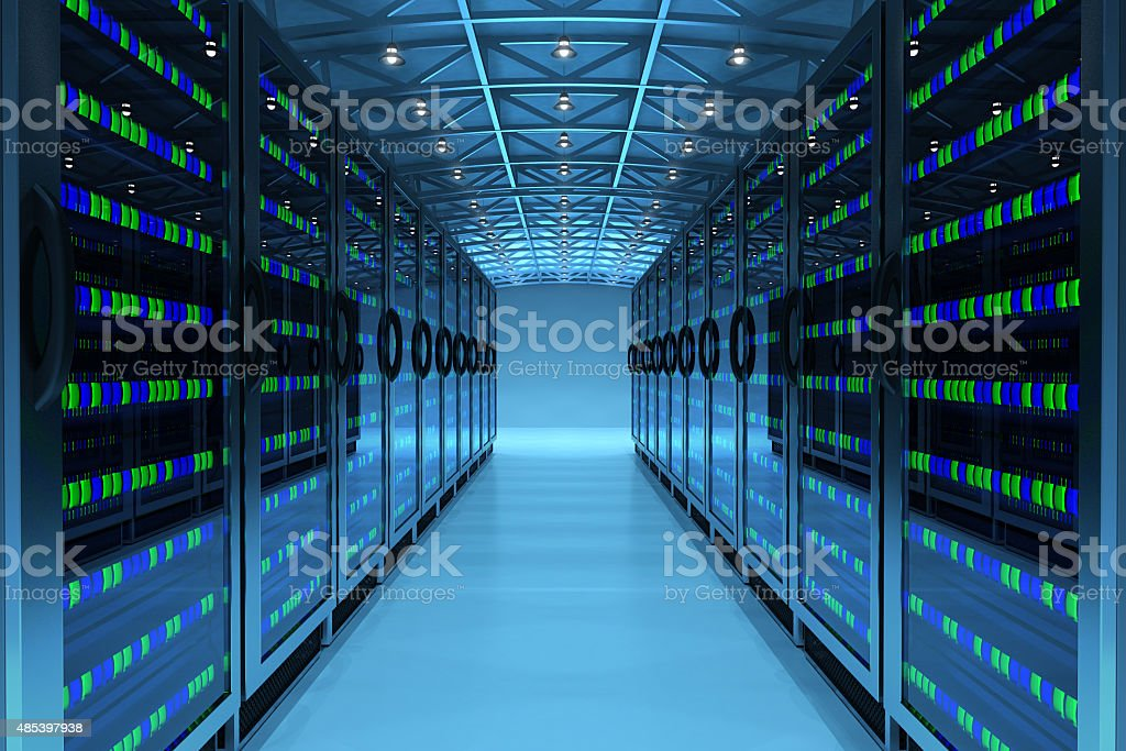 Networking communication technology concept stock photo
