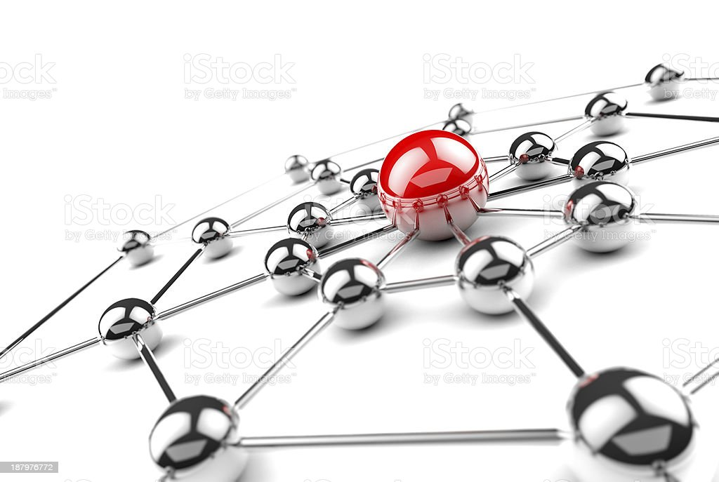Networking concept. royalty-free stock photo