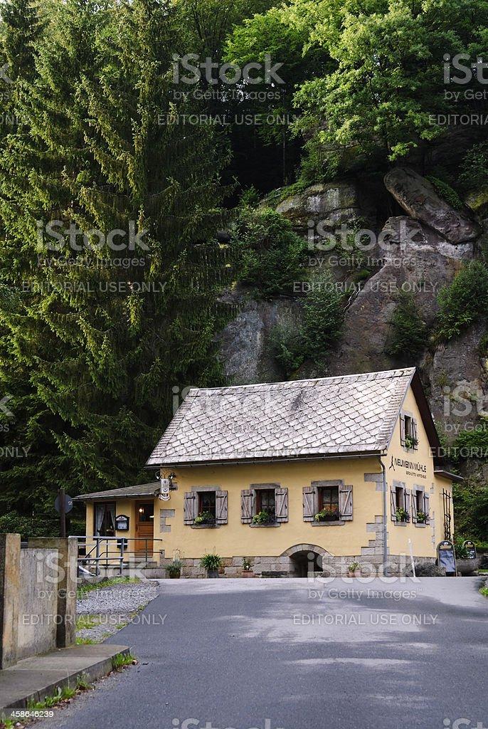 Neumannmühle stock photo