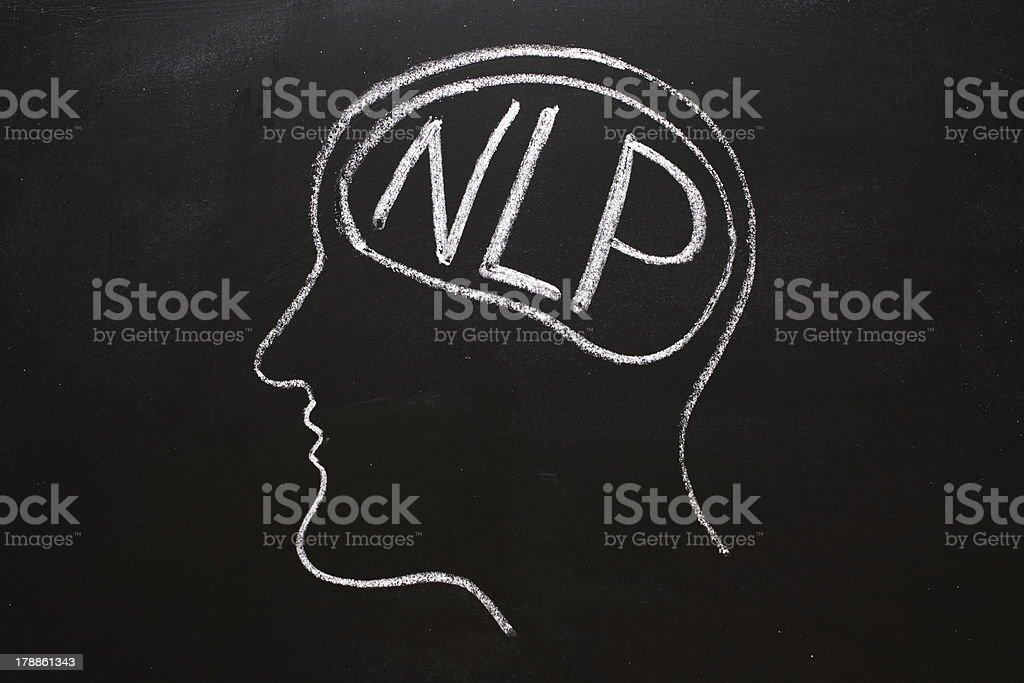 Neuro Linguistics Programming royalty-free stock photo