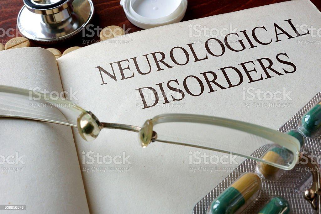 neurological disorders stock photo