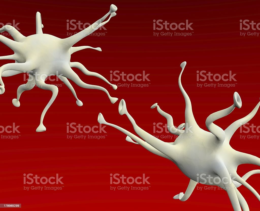 neuronal royalty-free stock photo