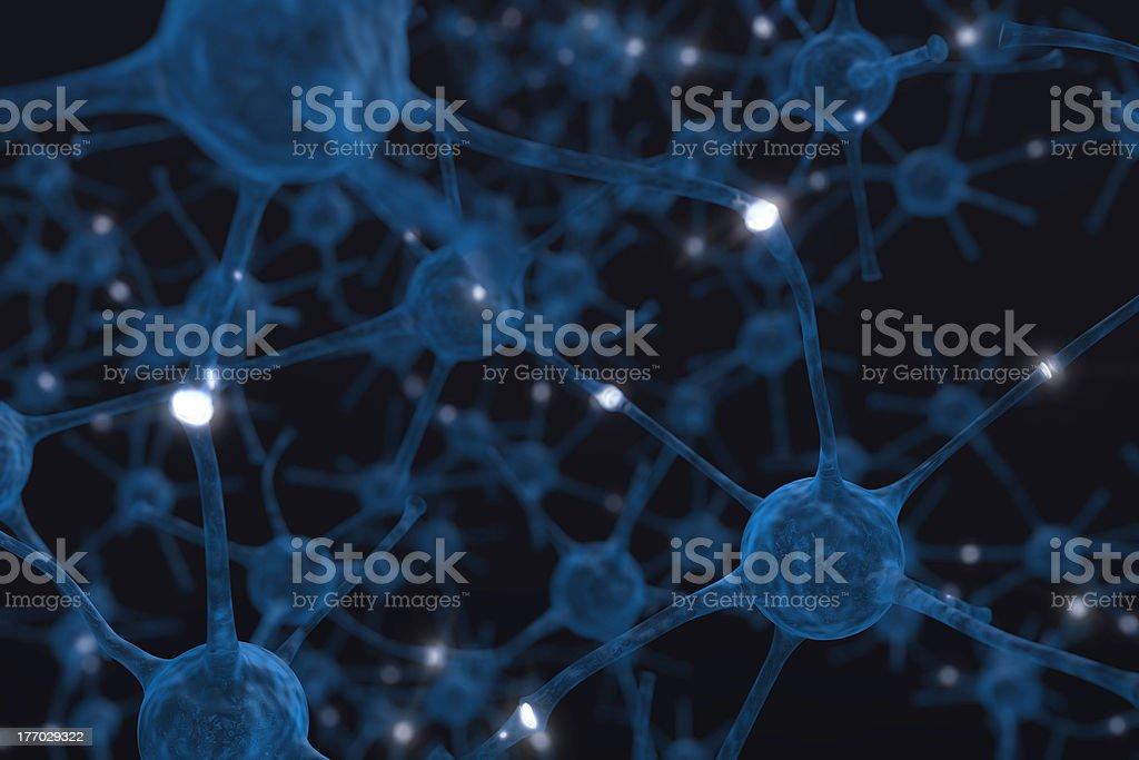 Neurons royalty-free stock photo